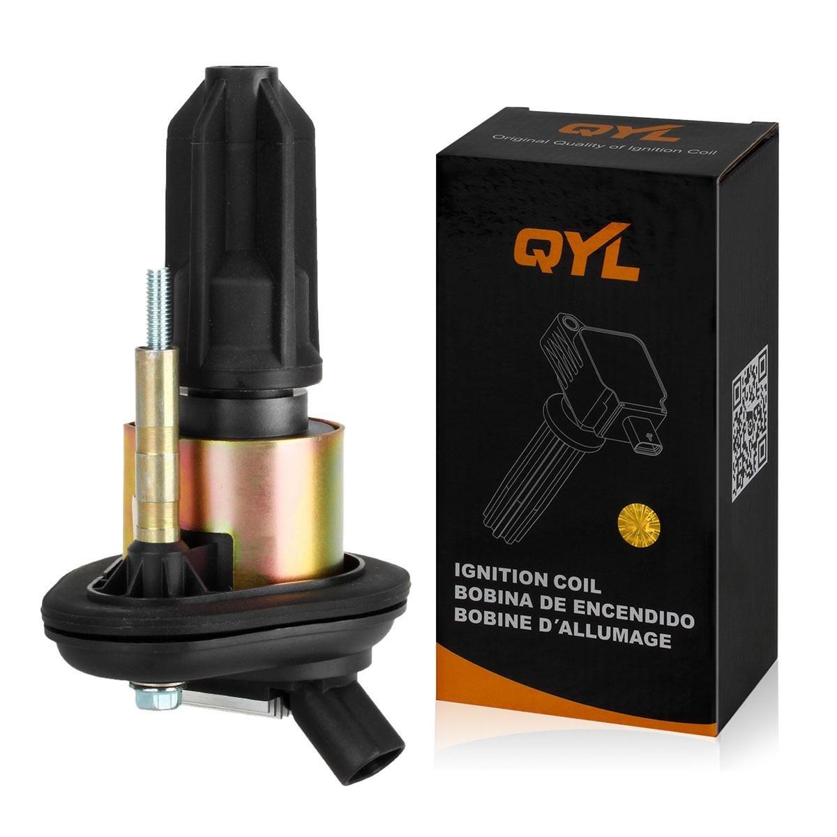QYL Ignition coil for Chevy GMC Saab Isuzu 2.8L 2.9L 3.5L 3.7L 4.2L I4 I5 I6 UF303 5C1392 GN10114 5C1723 C1395 C1666 610-00109 UF-303(Pack of 1) by QYL