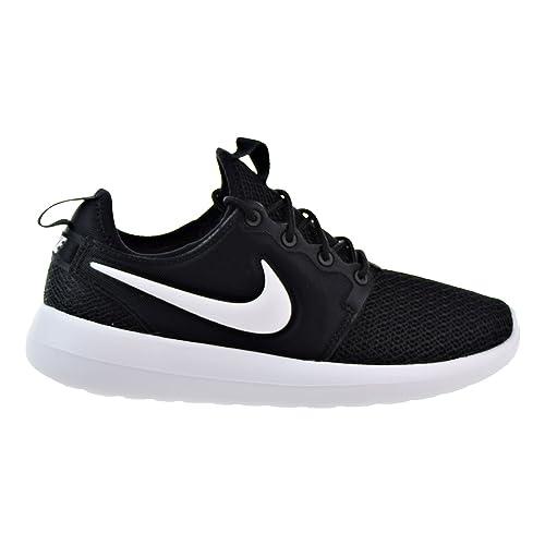 competitive price 16693 da58e NIKE Roshe Two Women s Shoes Black Black White 844931-007 (10.5 B
