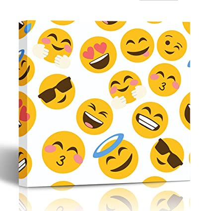 Black smiley face emoji