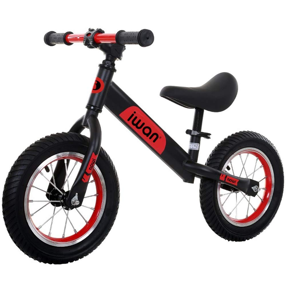 D Bicicletas sin pedales Bicicletas de Equilibrio, Cochecito Infantil Antideslizante para niños pequeños 1-3-6 años de Edad en Bicicleta - envíe Equipo Projoector (Color   B)