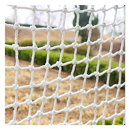 Hwj Decor Net Children Protection Safety Fence Climbing Woven Rope Truck Cargo Trailer Netting For Railings Stairs Children Indoor Stairs Playground
