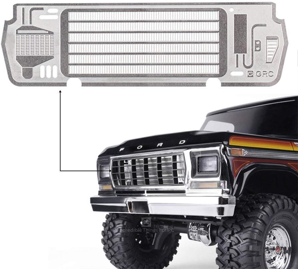 US LED Light Part Kits for 1:10 RC Car Crawler Traxxas TRX4 Ford Bronco Ranger