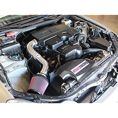 HPS 27-260P Polish Shortram Air Intake Kit with Heat Shield (Cool Short Ram SRI): Automotive