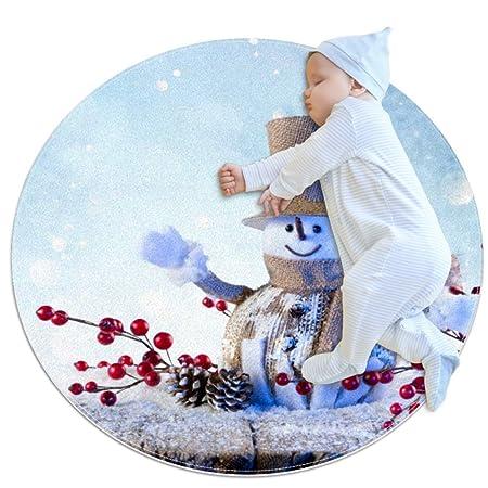 Vockgeng Un muñeco de Nieve en Invierno - 2 Alfombras ...