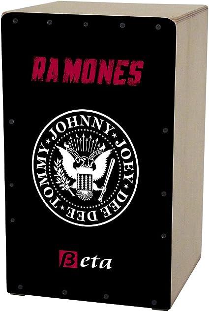 Cajón flamenco Beta mod. RAMONES - Caja musical - tributo ...