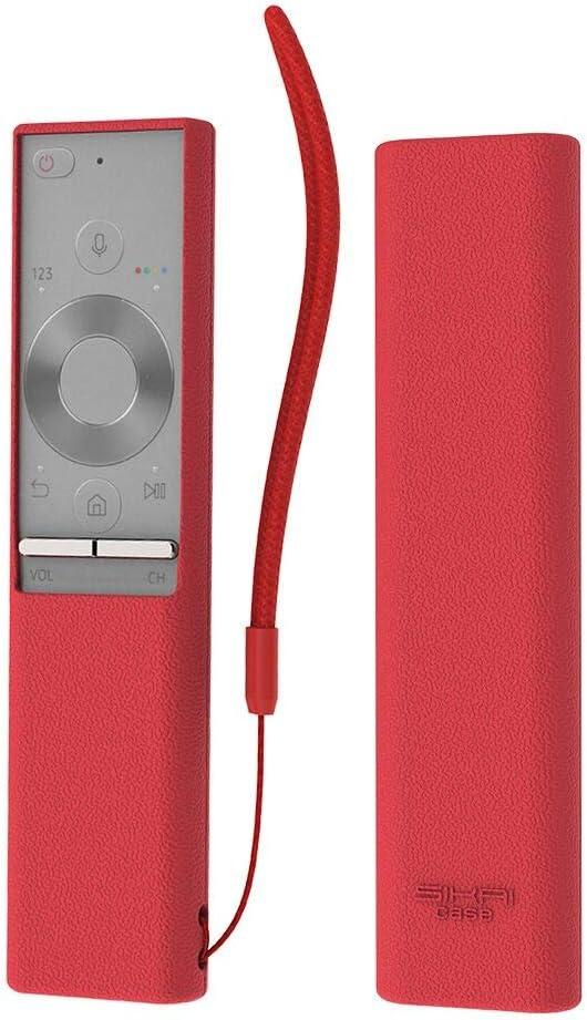 Carcasa de Silicona Antideslizante para Mando a Distancia Samsung BN59-01265A (Rojo)