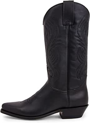 Sendra Boots - 2605 Red Pull Oil Negro