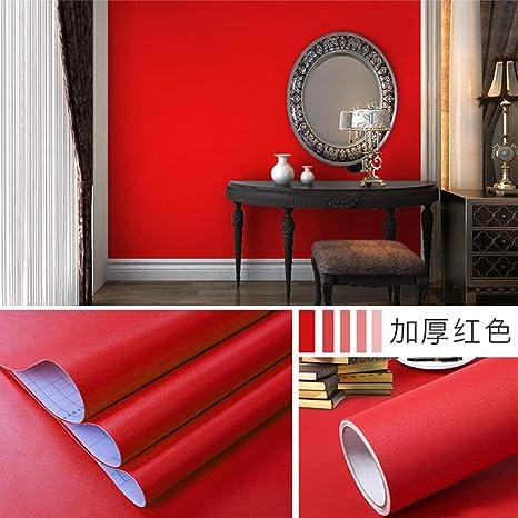 lsaiyy Papel Pintado Impermeable de PVC Autoadhesivo Color ...