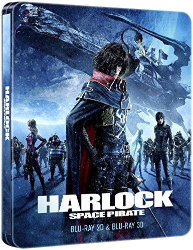 Harlock Space Pirate Collectors Edition Steelbook 3D/2D [Blu-ray] (3d Blu Ray Space compare prices)