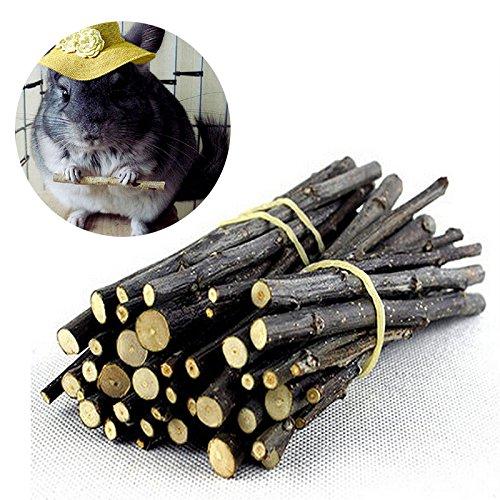 1 Beutel Apfelholz Kauen Stöcke Zweige für Kaninchen Hamster Meerschweinchen EAGLESTIME