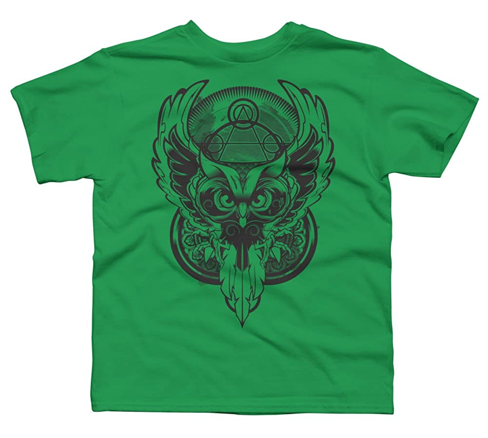 Design By Humans The Wisdom Boys Youth Graphic T Shirt