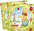 Amscan Disney Winnie The Pooh And Piglet Lunch Napkins