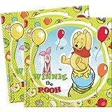 Winnie l'Ourson et Porcinet Serviettes (Pack de 20)