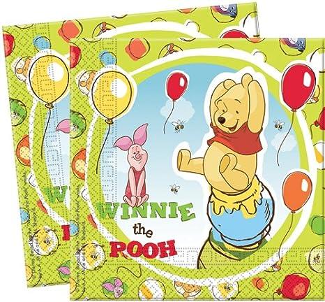 Amscan Cubertería para fiestas Winnie the Pooh (5951)