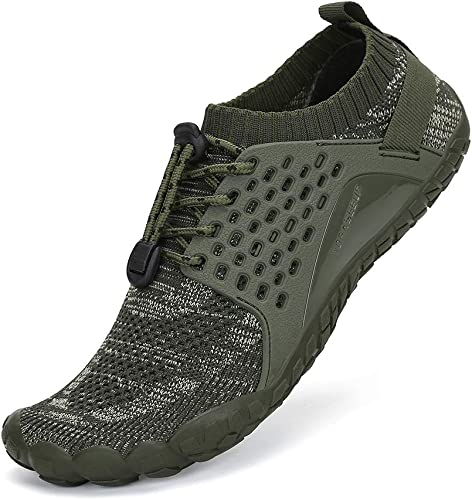 SAJOMCE Mens Womens Trail Running Shoes