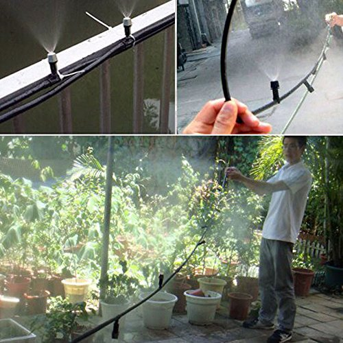 Misting System Winterizing : Thebluestone diy ft nozzles misting system kit for