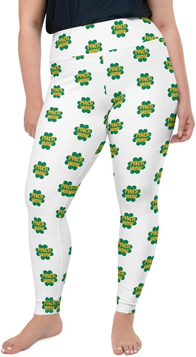 Pinch Proof Women S Plus Size Leggings Funny St Patty S Day Irish Plus Size Leggings For Women At Amazon Women S Clothing Store