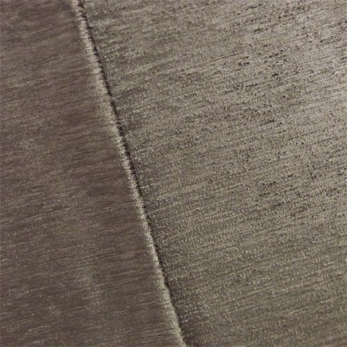 Dark Taupe Empress Chenille Strie Velvet Decorating Fabric, Fabric by The Yard