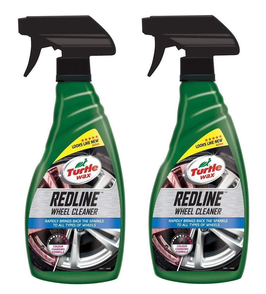 Turtle Wax 52811 Redline Car Wheel & Rim Cleaner Restorer 2 x 500ml