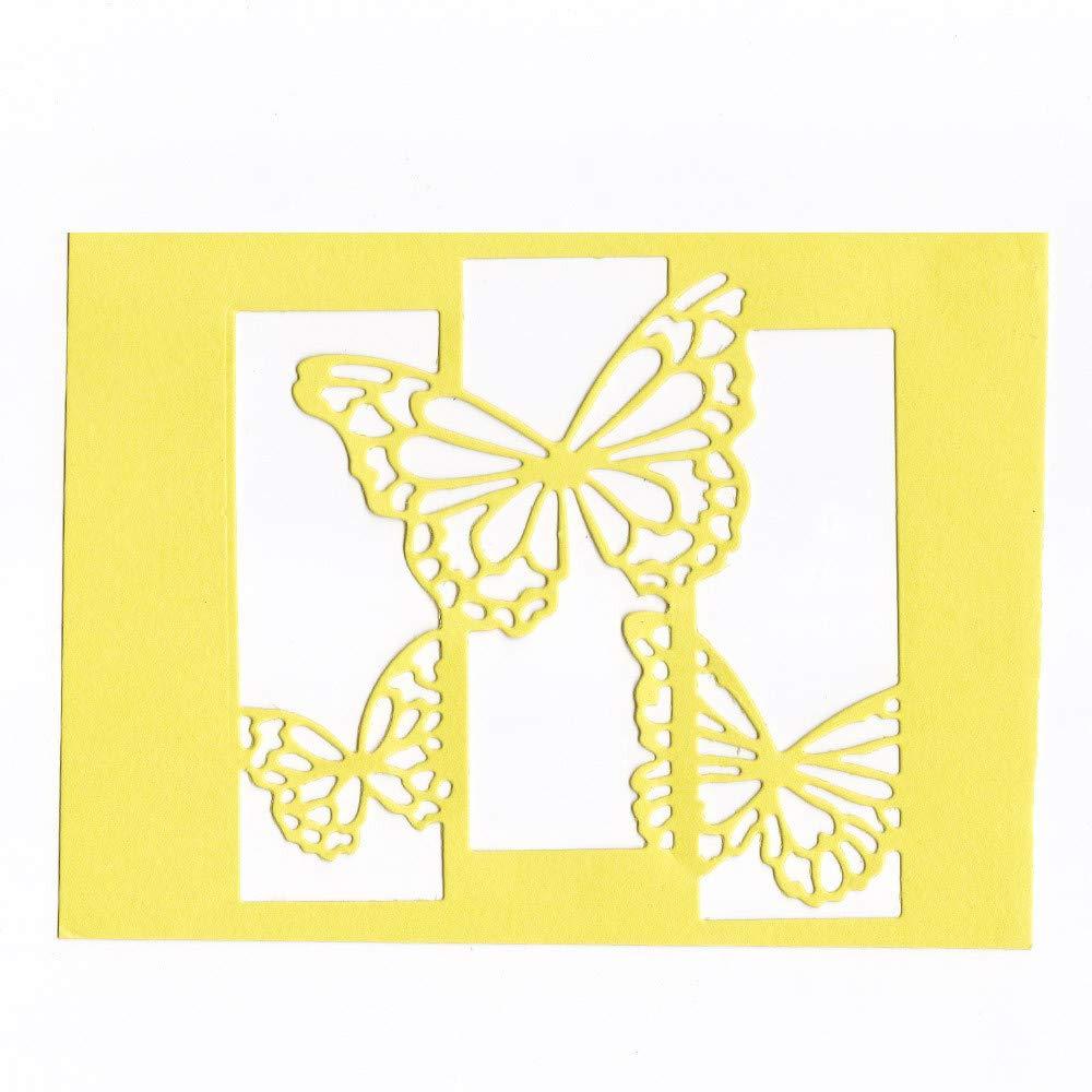 DIPOLA Stencil Deco Fondo Manuscrito de Plantilla de Animados Bonita Para hacer cosas