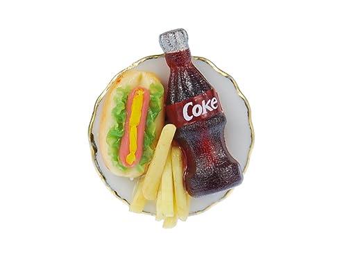 miniblings Fast Food Anillo Anillo de Dedo Papas Fritas de ...