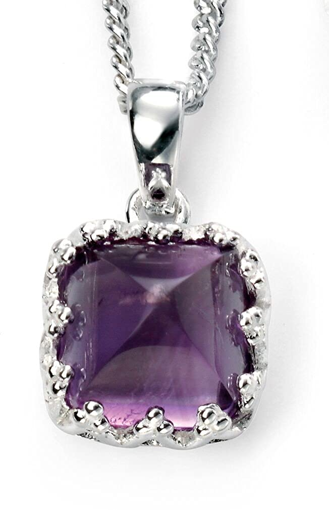 51 My-jewellery 925 Silver Trend Amethyst Necklace 20