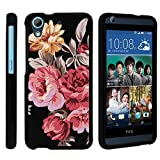 HTC Desire 626 Case, Slim Fit Snap On Cover with Unique, Customized Design for HTC Desire 626 from MINITURTLE | Includes Clear Screen Protector and Stylus Pen - Autumn Flowers