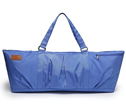 bf3b929be79d ELENTURE Full-Zip Extra Large Yoga Mat Tote Bag with Multi-Functional  Storage Pockets