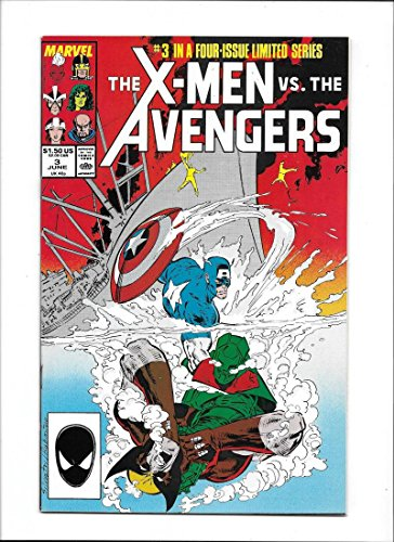 - X-MEN VS. AVENGERS #3 [1987 NM-] FOUR-ISSUE LIMITED SERIES