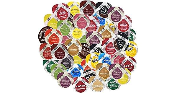 Amazon.com: Tassimo 100 T-Discs/Capsules Variety Pack (100 ...