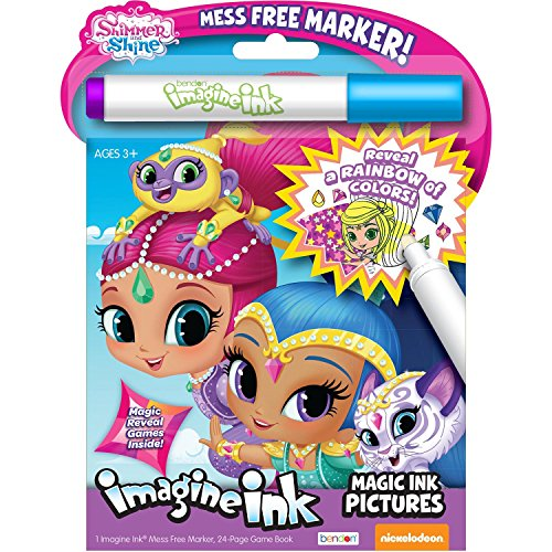 Bendon Shimmer and Shine Image Ink Magic Ink Pictures, 24 Pages (41649)( Cover artwork may vary )