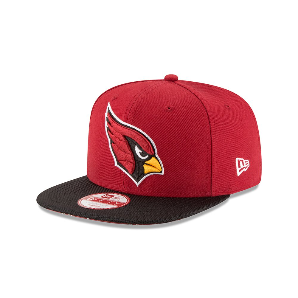 Amazon.com: New Era Arizona Cardinals Red On-Field Sideline 9FIFTY Snapback Adjustable Hat/Cap: Clothing