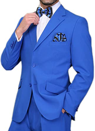 New Arrivals Royal Blue Mens Suits Groom Tuxedos Groomsmen Wedding Party Dinner Best Man Suits jacket+pants+bow Tie W:70