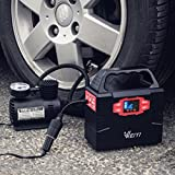 WEIYI-Portable-Power-Station-Power-Inverter-Generator-Gas-free-With-Outputs-AC-110V-Max-151Wh-2USB-35A-3DC-12V15A-Built-in-Battery-Capacity-40800mAhBlack