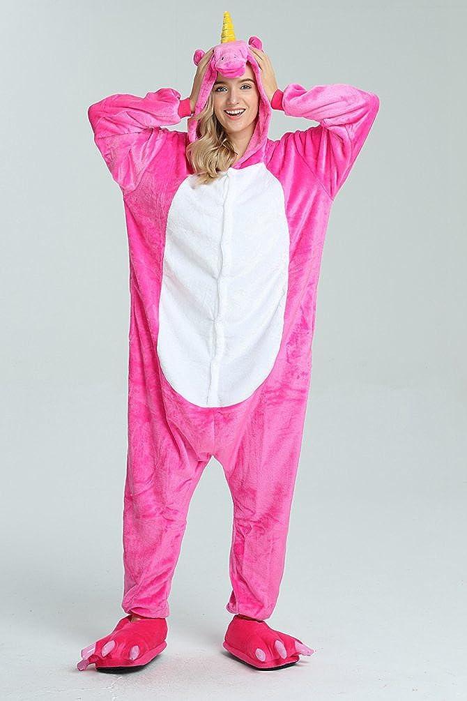 Renee Adulte Unisexe Anime Animal Costume Cosplay Combinaison Pyjama Outfit Nuit V/¨/ºtements Onesie Fleece Halloween Costume Soir/¨/¦e de D/¨/¦guisements