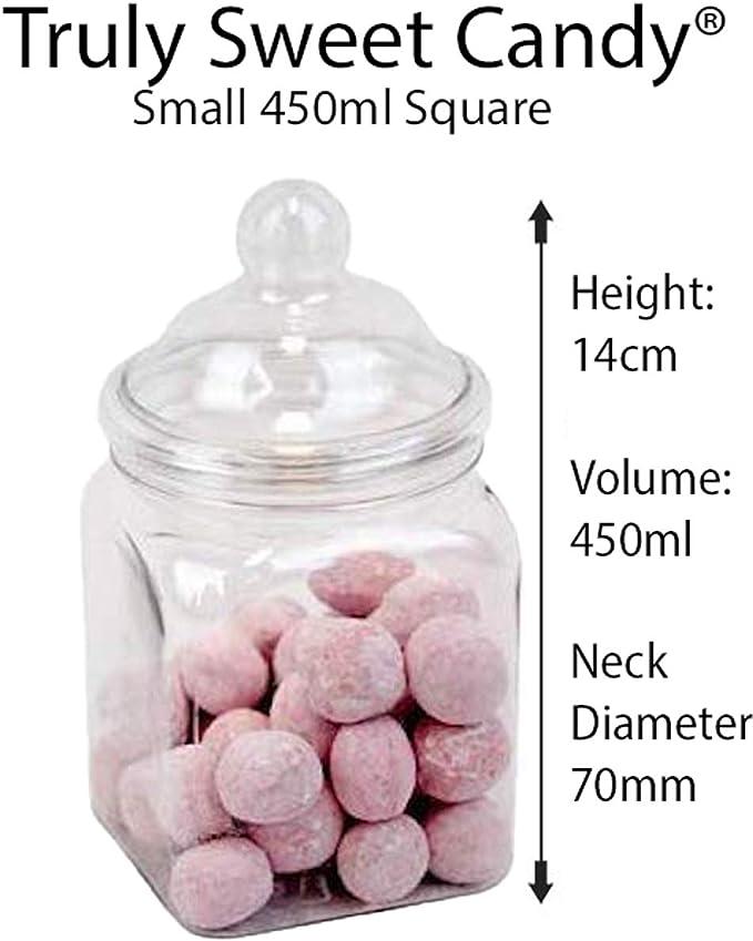 Aqua Truly Sweet Candy 10 Plastic Sweet Jars 50 bags Buffet 2 tongs 5 styles