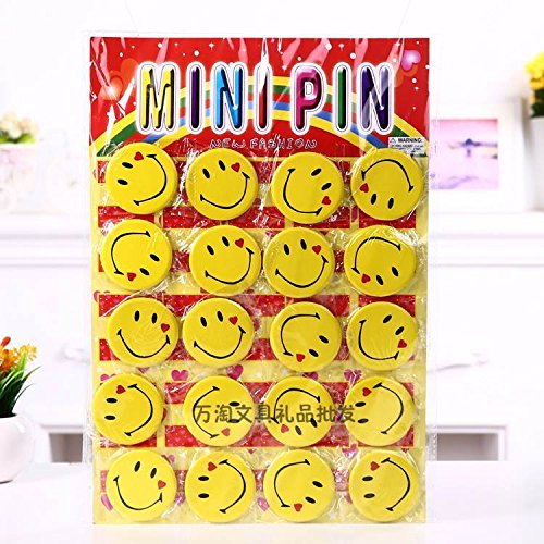 Queen smile smiley face badge brooch badge badges 5.8 yuan 20