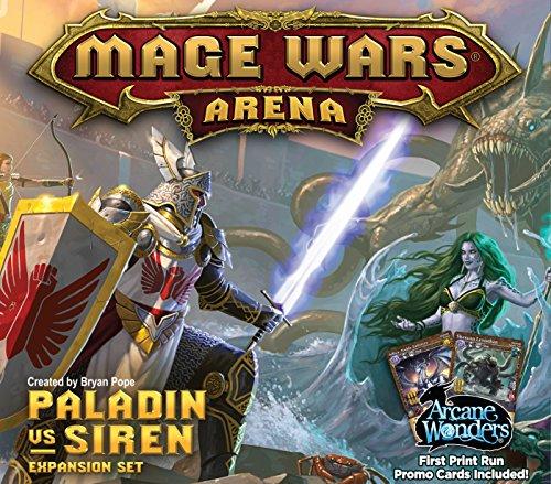 (Mage Wars Arena: Paladin vs Siren Expansion Board Game)