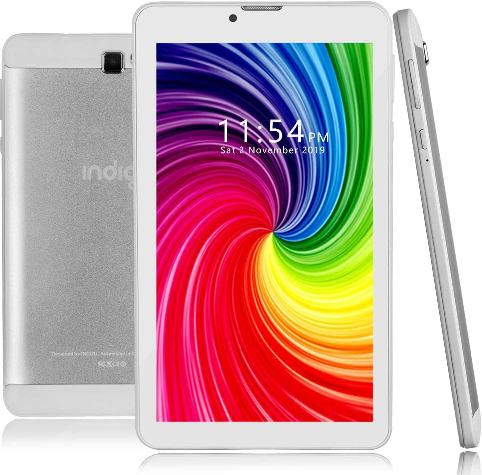 Indigi Directly managed store 4G LTE GSM Unlocked Pie 7-inch High order Smartphone White Android
