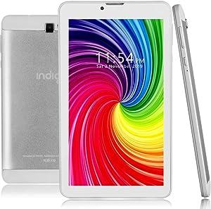 Indigi 4G LTE GSM UnlockedS mart Cell Phone Phablet Huge 7-inch Screen Android 9 GPS WiFi UltraSlim Unlocked