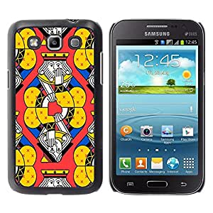 Jordan Colourful Shop - FOR Samsung Galaxy Win I8550 - make demands on them - Personalizado negro cubierta de la caja de pl??stico