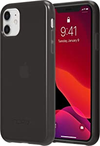 Incipio NGP Pure Translucent Case for Apple iPhone 11 with Flexible Shock-Absorbing Drop-Protection - Black