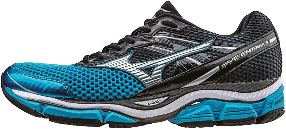 Mizuno Wave Enigma 5 - Zapatillas de running hombre , color Azul (Atomic Blue/Silver/Ombre Blue), talla 45 EU (10.5 UK): Amazon.es: Zapatos y complementos