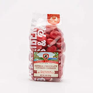 product image for Cherry Republic Imperial Chocolate Covered Cherries - Michigan Montmorency Tart Red Chocolate Cherry - Single 8 oz. Bag