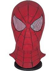 Yacn Spider-Man Homecoming - Spiderman Hood Máscara Comics Hero Headgear Costume Cosplay para Adultos