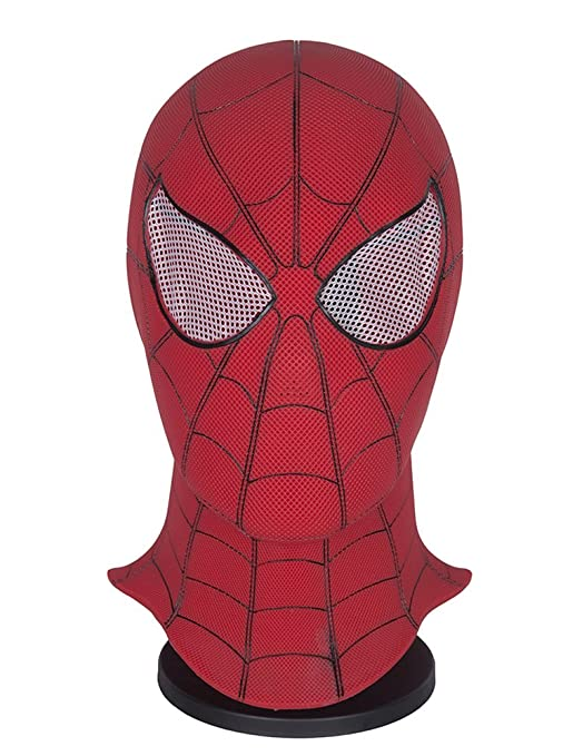 Yacn Spider-Man Homecoming - Spiderman Hood Máscara Comics Hero Headgear Costume Cosplay para Adultos