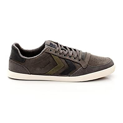 SLIMMER STADIL DUO OILED LOW - FOOTWEAR - Low-tops & sneakers Hummel Bx3sa3sDpe