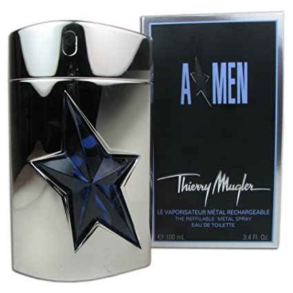 Thierry Mugler Angel Men Metal Recargable 100 ml