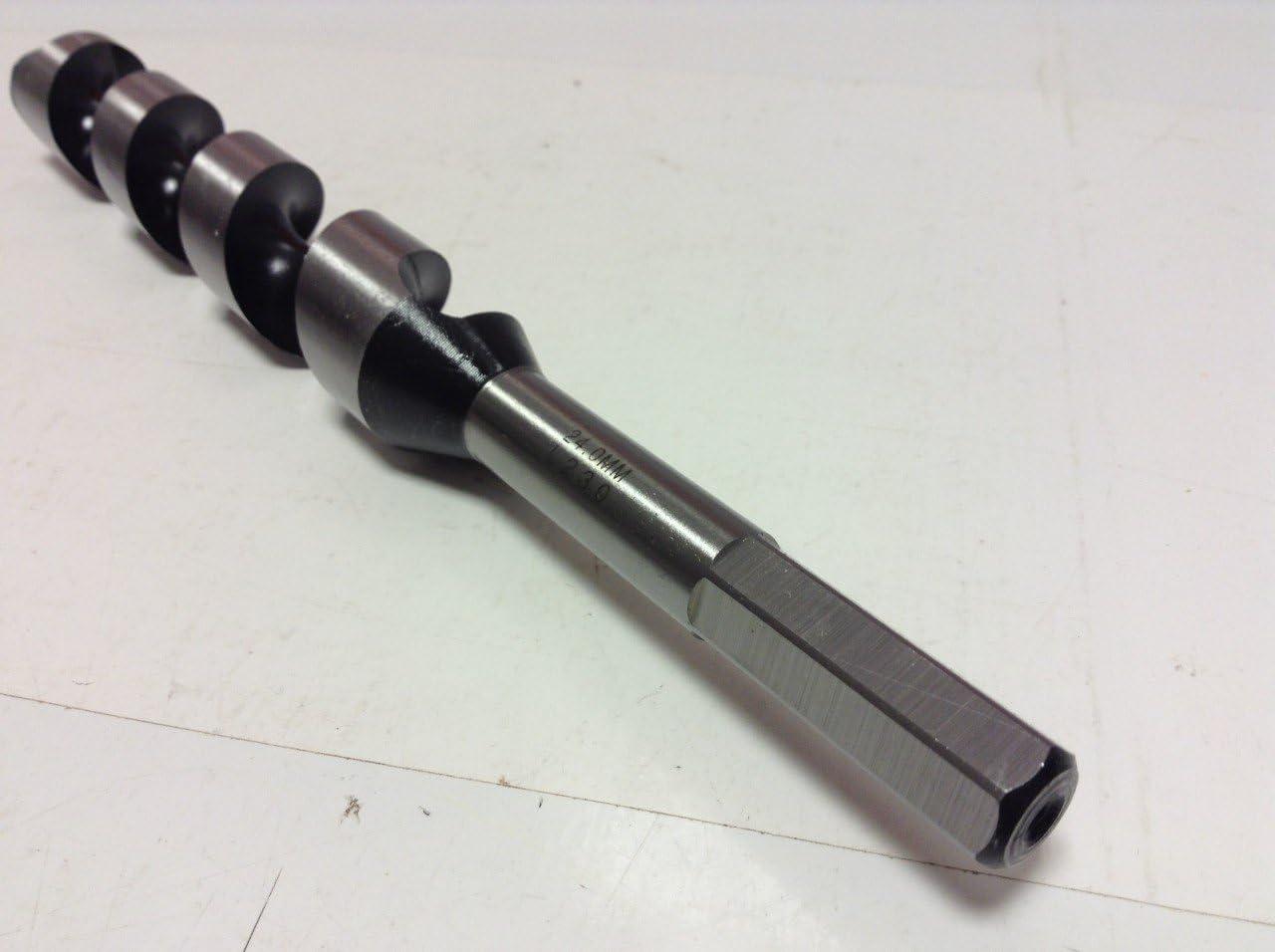 Silver Milwaukee 4002395347896tip Drill Spiral Coupling Hexagonal