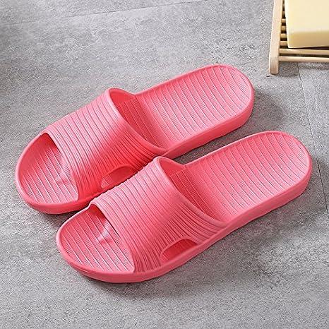 CWJDTXD Zapatillas de verano Pareja de baño zapatos de espuma sandalias de verano y zapatillas zapatillas